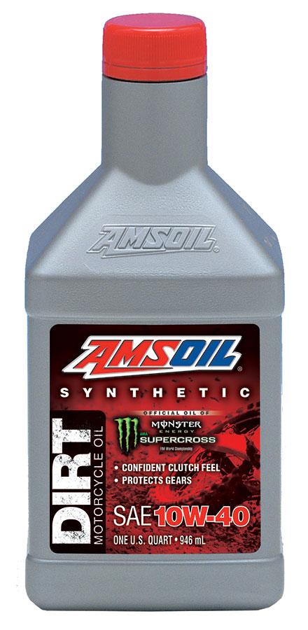Amsoil Synthetic Sae 10w 40 Dirt Bike Oil Db40