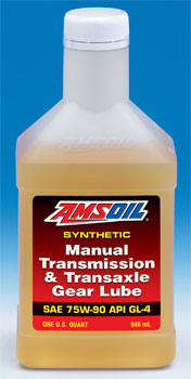 75W 90 (GL-4) Manual Transmission and Transaxle Gear Lube (MTG)