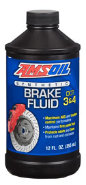 DOT 3 and DOT 4 Synthetic Brake Fluid (BFLV)