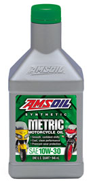 10W-30 Synthetic Metric Motorcycle Oil (MCT)